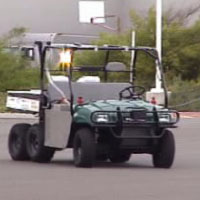 Overbot driving autonomously